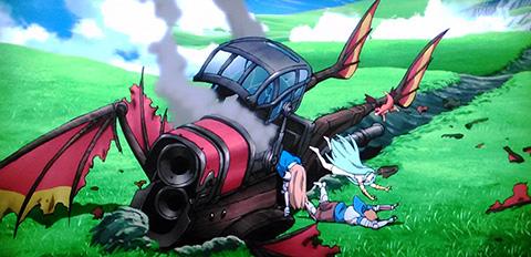 グラブル アニメの感想 第3話 風の出会い