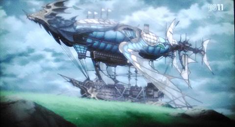 グラブル アニメの感想 第4話 操舵士の決意