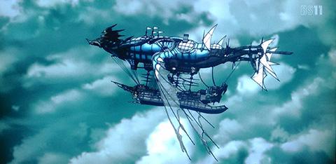 グラブル アニメの感想 第5話 決戦、嵐の守護神
