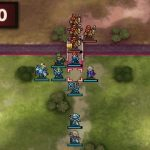 ファイアーエムブレムエコーズ 守備力の高いユニットで橋を封鎖する